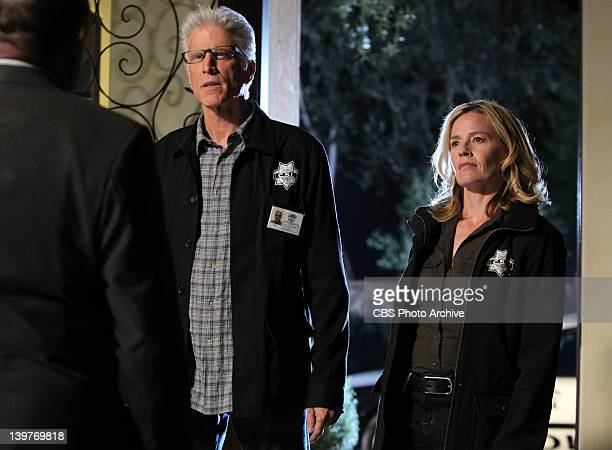 CSI Unplugged DB Russell and Julie Finlay on CSI CRIME SCENE INVESTIGATION Wednesday Feb 29 on the CBS Television Network