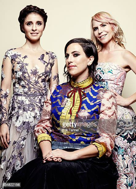 'UnReal' actress Shiri Appleby cocreator executive producer Sarah Gertrude Shapiro and producer Marti Noxon pose for a portrait at the 75th Annual...