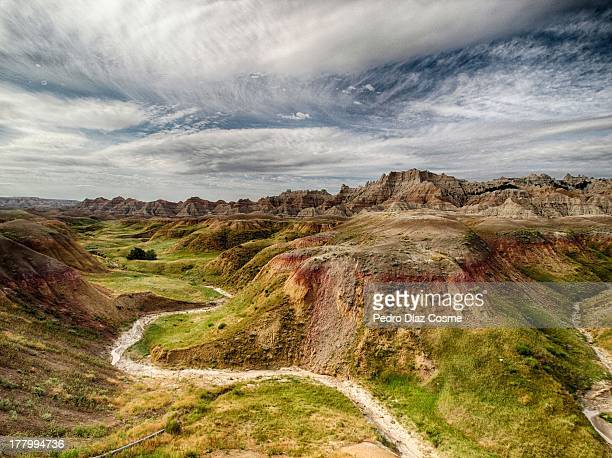 unreal place, but it does exist - south dakota stock photos and pictures