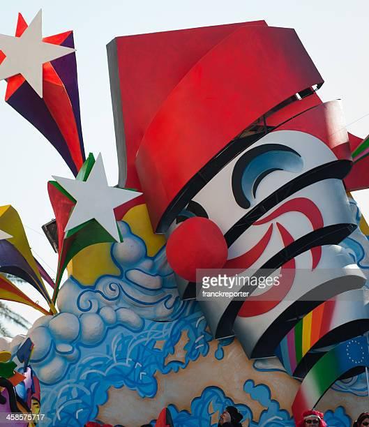 Unreal simbolo Carnevale di Viareggio 2010