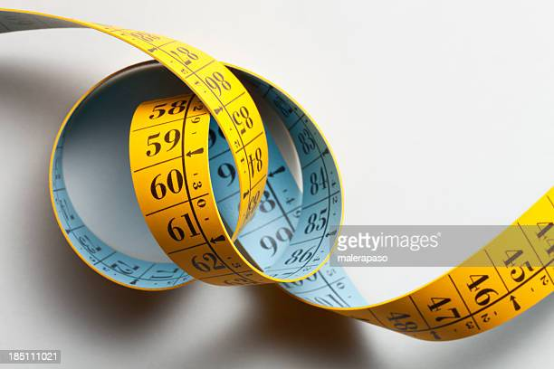 Unrolled and twisted tape measure