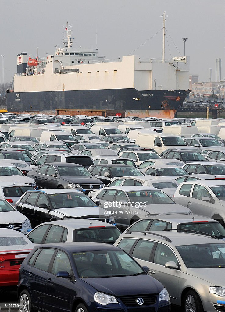 Unsold new cars are parked at Grimsby Do Pictures | Getty Images
