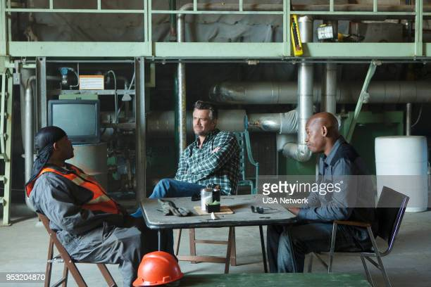 G Unsolved Episode 110 Pictured Lahmard J Tate as Duane Keith David Josh Duhamel as Detective Greg Kading Bokeem Woodbine as Detective Daryn Dupree
