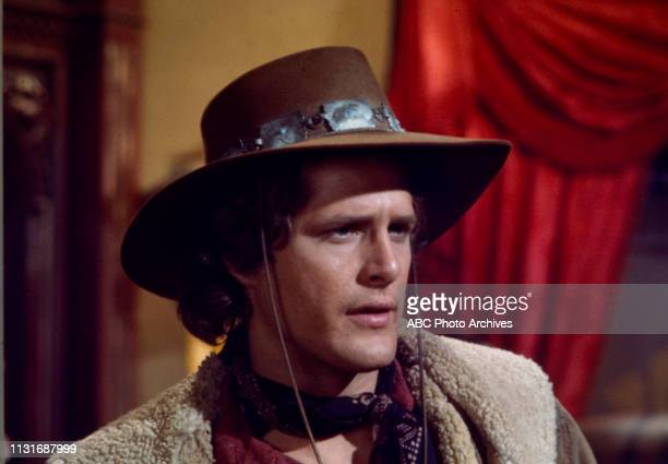 Ben Murphy appearing in the Walt Disney Television via Getty Images tv series 'Alias Smith and Jones'
