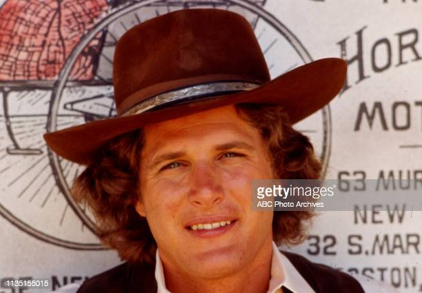 Ben Murphy appearing in the Walt Disney Television via Getty Images tv series 'Alias Smith and Jones'.