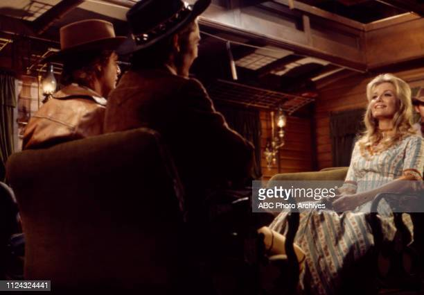 Ben Murphy Pete Duel Beth Brickell appearing in the Walt Disney Television via Getty Images tv series 'Alias Smith and Jones'