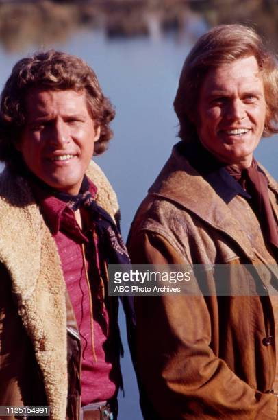 Ben Murphy, Roger Davis appearing in the Disney General Entertainment Content via Getty Images tv series 'Alias Smith and Jones'.