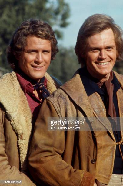 Ben Murphy Roger Davis appearing in the Walt Disney Television via Getty Images tv series 'Alias Smith and Jones'