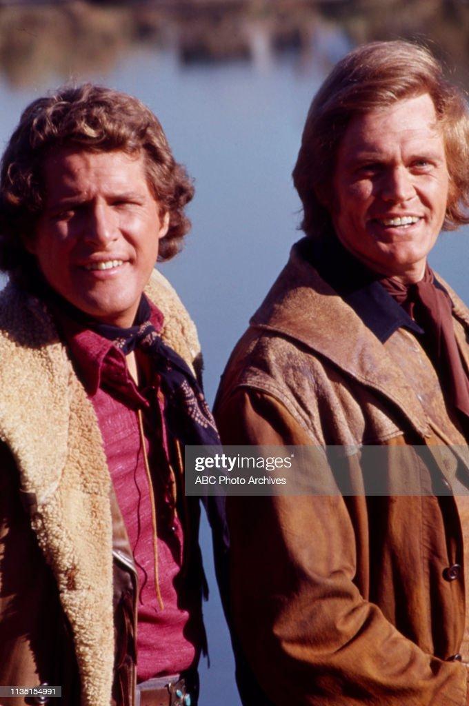 Ben Murphy, Roger Davis Appearing In 'Alias Smith And Jones' : News Photo