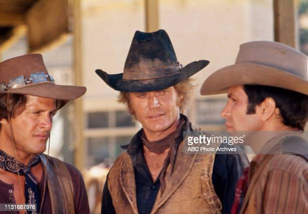 Ben Murphy Roger Davis Frank Sinatra Jr appearing in the Walt Disney Television via Getty Images tv series 'Alias Smith and Jones'