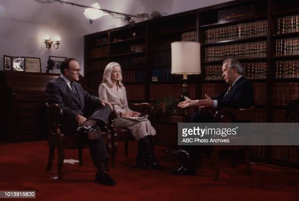 Bob Clark Senator Henry Martin 'Scoop' Jackson appearing on ABC's 'Issues and Answers'