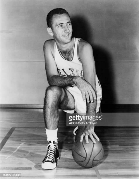 Boston Celtics player Bob Cousy in uniform