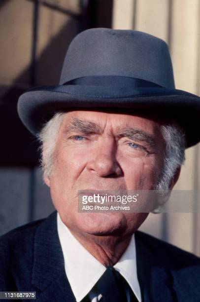 Buddy Ebsen appearing in the Walt Disney Television via Getty Images tv series 'Alias Smith and Jones'