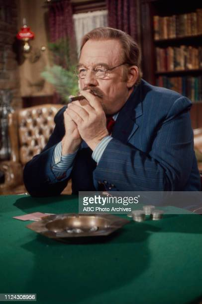 Burl Ives appearing in the Walt Disney Television via Getty Images series 'Alias Smith and Jones'