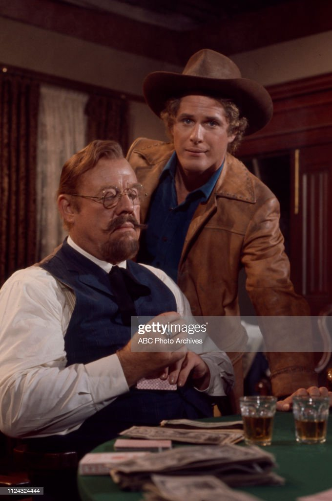 Burl Ives, Ben Murphy Appearing In 'Alias Smith And Jones' : News Photo