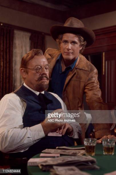 Burl Ives Ben Murphy appearing in the Walt Disney Television via Getty Images tv series 'Alias Smith and Jones'