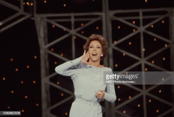 Carol Burnett doing her Tarzan yell on 'The Carol Burnett Show'.