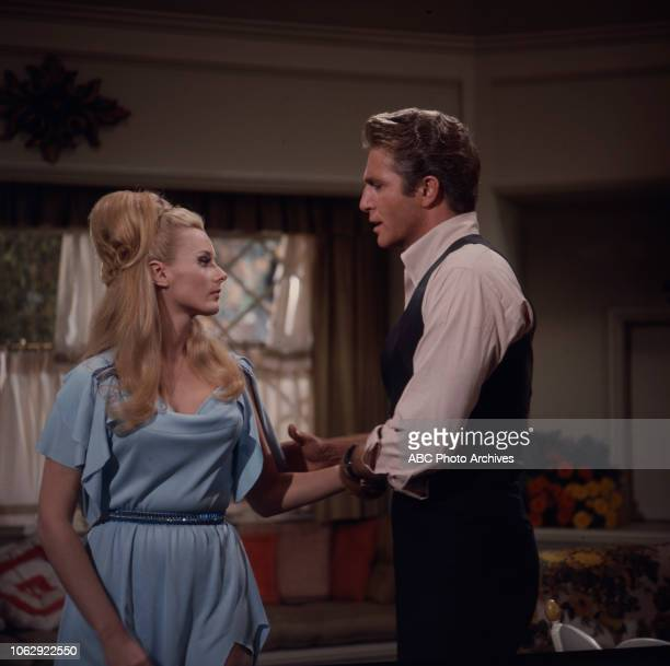 Celeste Yarnall Don Matheson appearing on Walt Disney Television via Getty Images's 'Land of the Giants'