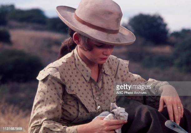 Christine Belford appearing in the Walt Disney Television via Getty Images tv series 'Alias Smith and Jones'