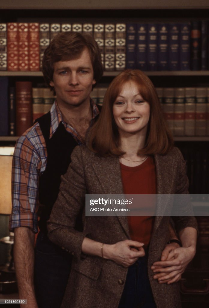 Denny Albee Frances Fisher Appearing On Edge Of Night News Photo