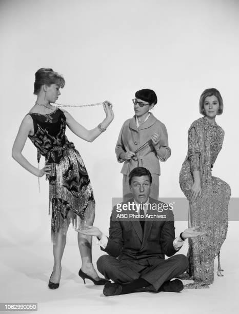 Dick Van Dyke Edith Head C Goodwin P Light promotional photo for ABC Radio's 'Flair' program