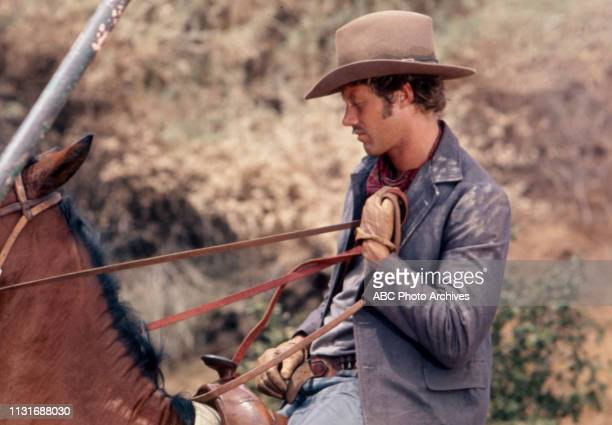 Frank Converse appearing in the Walt Disney Television via Getty Images tv series 'Alias Smith and Jones'