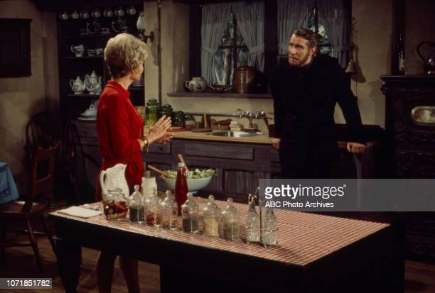 Hope Lange Edward Mulhare appearing on the Walt Disney Television via Getty Images's 'The Ghost Mrs Muir'