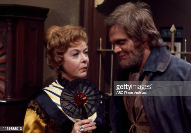 Ida Lupino Roger Davis appearing in the Walt Disney Television via Getty Images tv series 'Alias Smith and Jones'