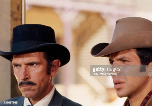 JD Cannon Frank Sinatra Jr appearing in the Walt Disney Television via Getty Images tv series 'Alias Smith and Jones'
