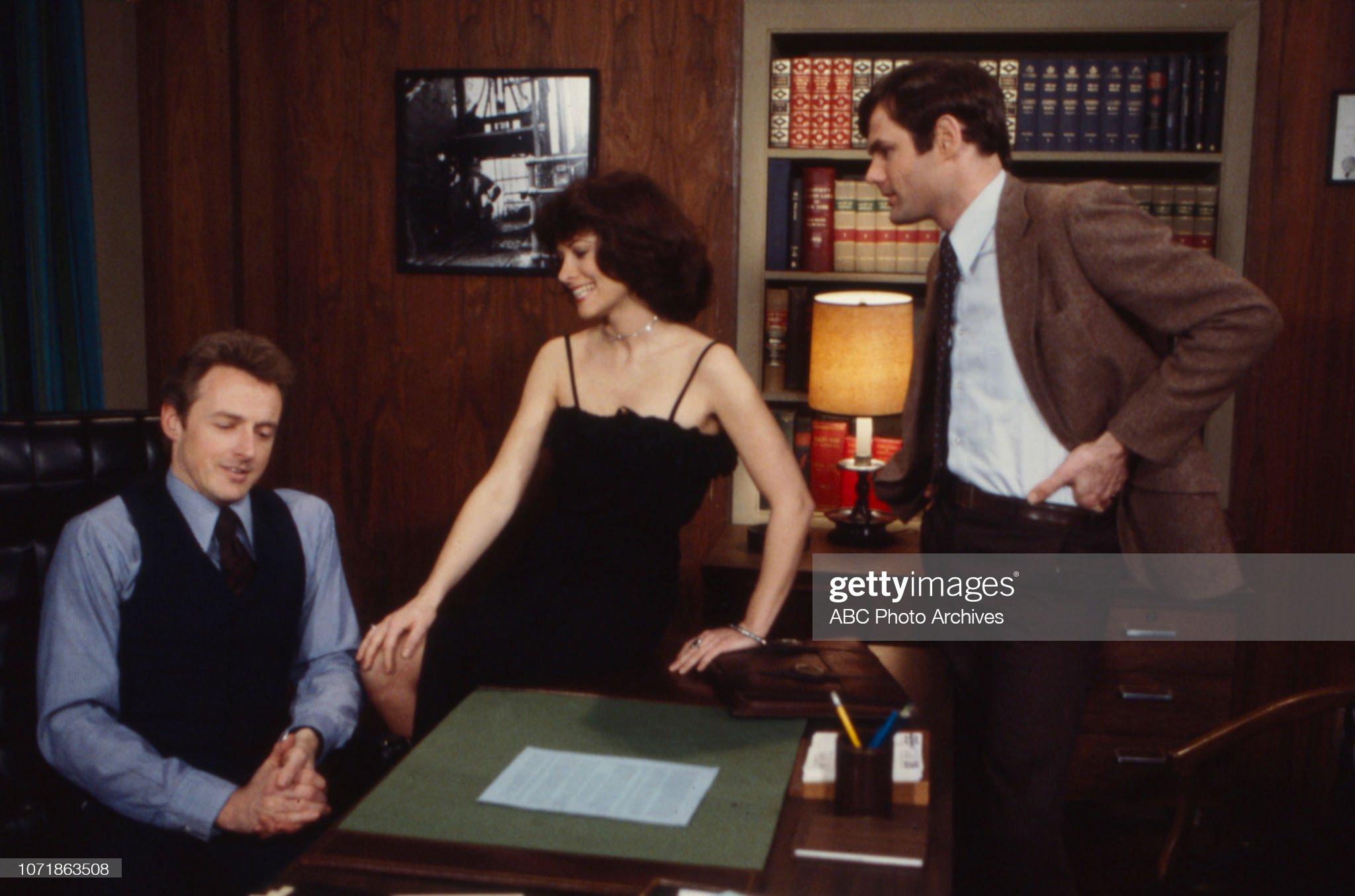 Joe Lambie, Sharon Gabet, Cliff Nelson Appearing On 'Edge of Night' : News Photo
