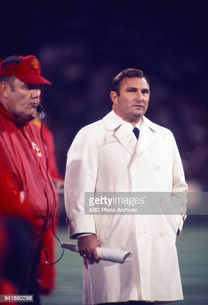 Kansas City Chiefs coach Hank Stram