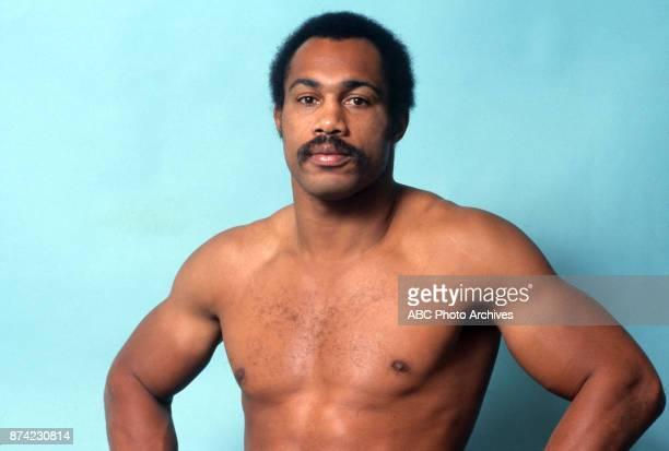 Ken Norton boxing portrait