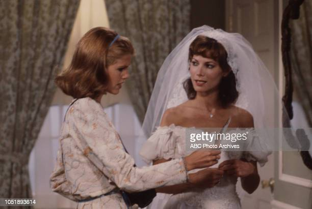 Leah Ayres Sharon Gabet appearing on the soap opera 'Edge of Night'