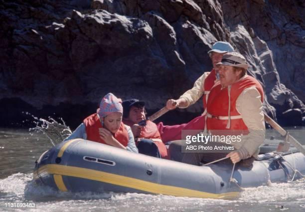 Louise Sorel Henry Darrow Frank Converse Albert Salmi appearing in the Walt Disney Television via Getty Images tv series 'The FBI'
