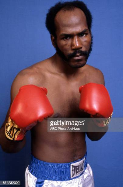 Marvin Johnson boxing portrait