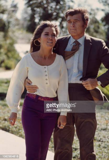 Michele Carey Barry Nelson appearing on Walt Disney Television via Getty Images's 'The FBI'