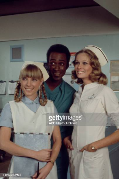 Nancy Fox Cleavon Little Barbara Rucker appearing in the Walt Disney Television via Getty Images tv series 'The New Temperatures Rising Show'