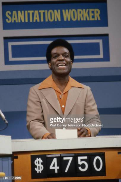 Nipsey Russell hosting the unsold ABC tv game show pilot 'The Ratings Game'
