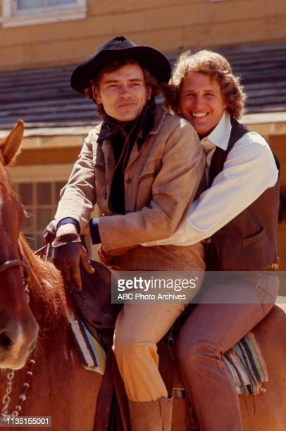 Pete Duel Ben Murphy appearing in the Walt Disney Television via Getty Images tv series 'Alias Smith and Jones'