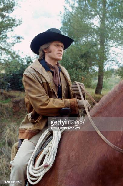 Roger Davis appearing in the Walt Disney Television via Getty Images tv series 'Alias Smith and Jones'