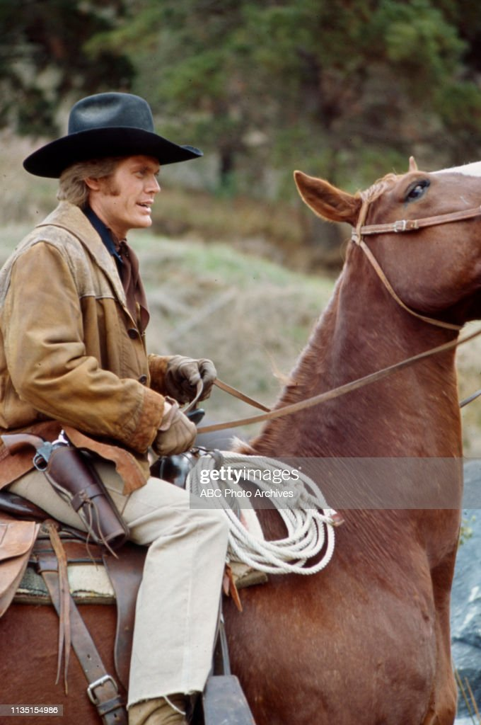 Roger Davis Appearing In 'Alias Smith And Jones' : News Photo