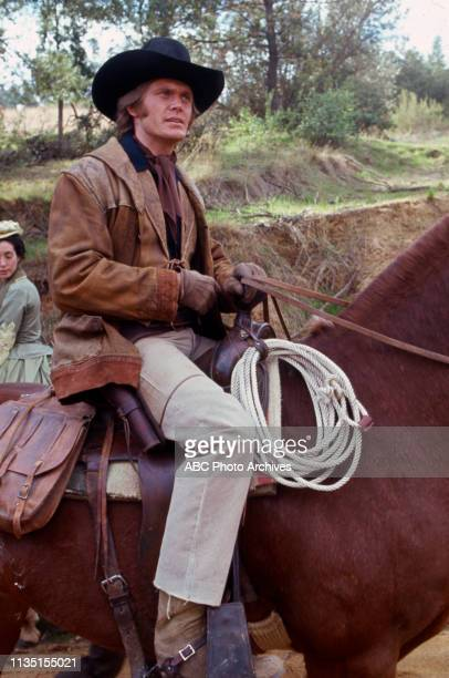 Roger Davis appearing in the Walt Disney Television via Getty Images tv series 'Alias Smith and Jones'.