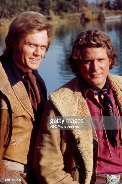 Roger Davis Ben Murphy appearing in the Walt Disney Television via Getty Images tv series 'Alias Smith and Jones'