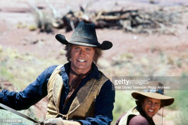 Roger Davis, Ben Murphy appearing on the ABC tv series 'Alias Smith and Jones'.