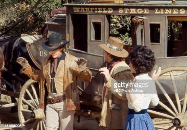 Roger Davis Ben Murphy Michele Lee appearing in the Walt Disney Television via Getty Images tv series 'Alias Smith and Jones'