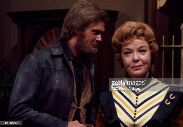 Roger Davis Ida Lupino appearing in the Walt Disney Television via Getty Images tv series 'Alias Smith and Jones'
