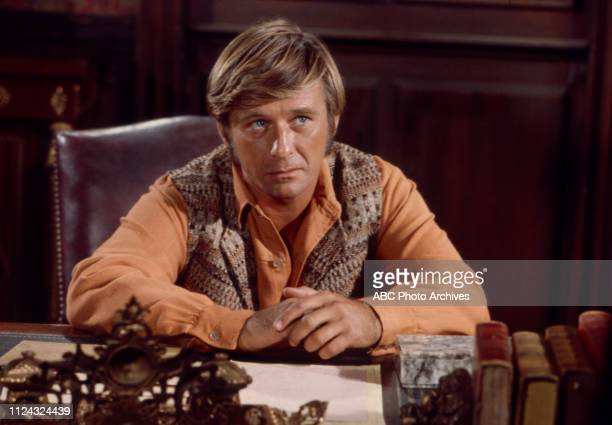 Roger Perry appearing in the Walt Disney Television via Getty Images tv series 'Alias Smith and Jones'