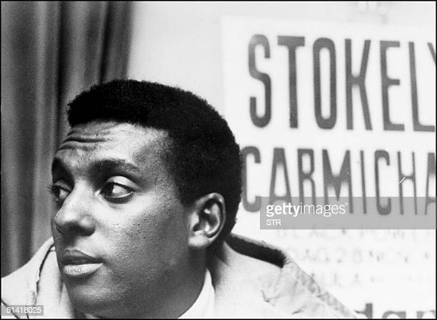 File photo dated 30 November 1967 shows Stokely Carmichael alias Kwame Ture the radical former Black Panther leader who died 15 November in the West...