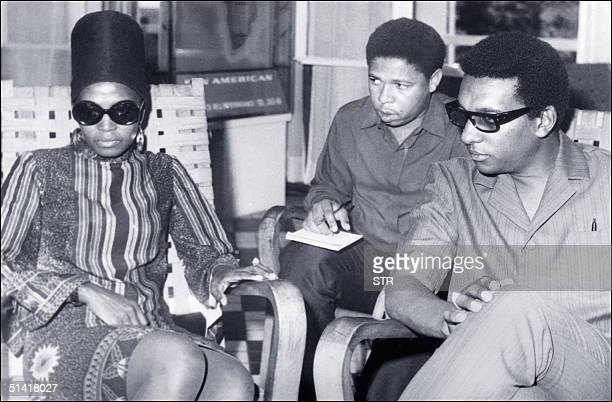 Picture dated 12 September 1968 shows Stokely Carmichael alias Kwame Ture the radical former Black Panther leader who died 15 November in the West...