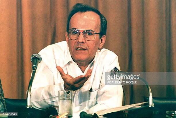 Ricardo Alarcon,presidente del parlamento cubano anuncio el 02 Mayo en conferencia de prensa en La Habana, la normalizacion de las relaciones...